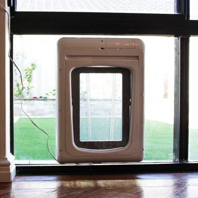 microchip door